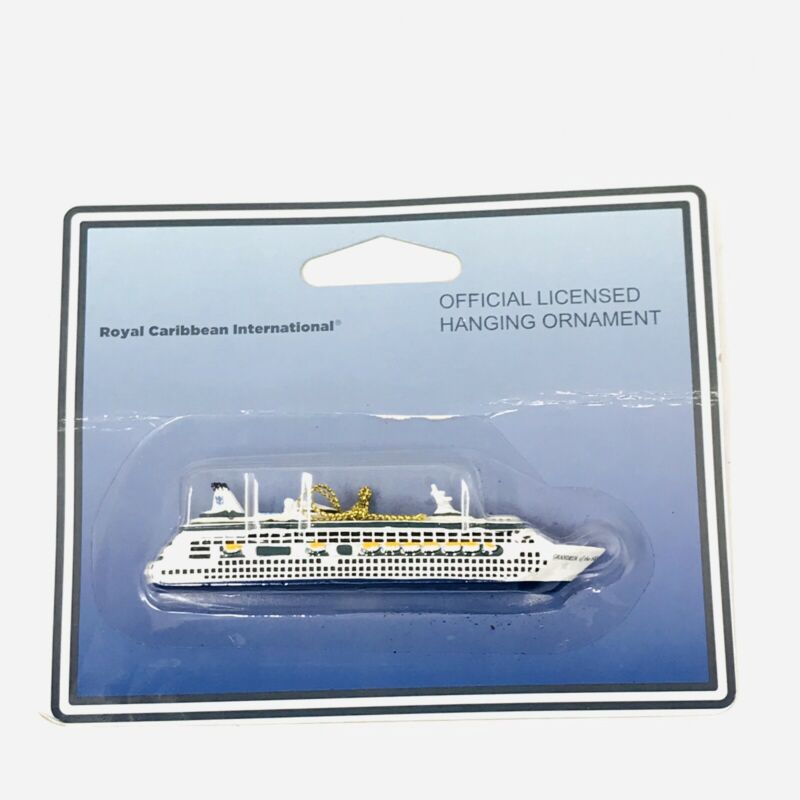 Official Licensed Royal Caribbean GRANDEUR OF THE SEAS Ship Ornament Christmas