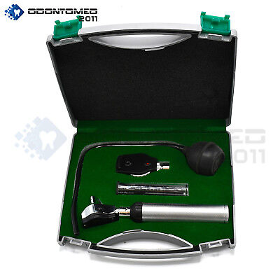 Ent Diagnosticotoscopeophthalmoscope Set With Insufflator Bulb And Tube