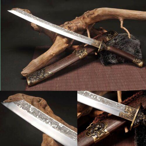 Handmade Chinese Sword 1095 High Carbon Steel Qing Dynasty Sword Sharp Blade