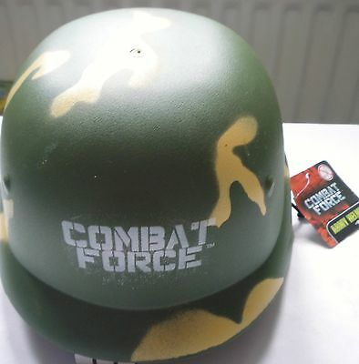 Army Dress For Kids (Combat Force Children's Army Toy Helmet - Great for Playing or Fancy Dress)