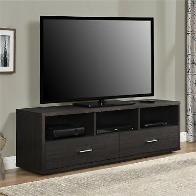 """Ameriwood Home Clark TV Stand for TVs up to 70"""", Espresso"""
