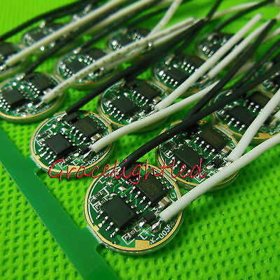 1pc 16mm 3.7v Led Driver For High Power Cree 10w Xml T5 T6 U2 L2 Led Bead Diy
