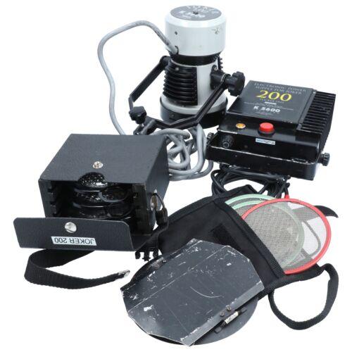 K 5600 Lighting Joker Bug 200 with Accessories & Case
