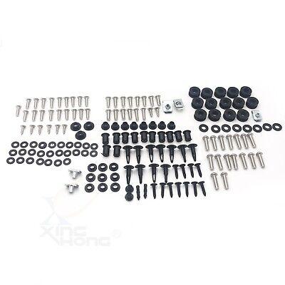 - For Honda CBR600RR 03-04 Complete Stainless Steel Body Screw Fairing Bolt Kit