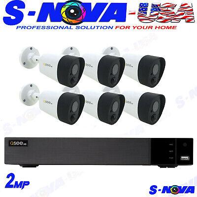 Q-See 8-Channel 5MP DVR Surveillance System with 2TB Hard Drive 6-Camera 5MP PIR