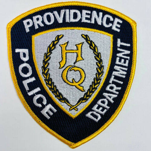 Providence Police HQ Headquarters Rhode Island RI Patch (A2)