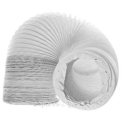 SERVIS Vented Tumble Dryer Hose Long Condenser Duct Vent PVC