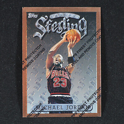 Michael Jordan - 1996-97 Topps Finest #50 with Peel