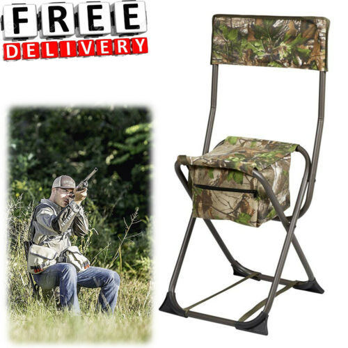 Hunting Chair Dove Portable Folding Travel Seat Steel Stool Hunter Camping
