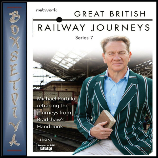 GREAT BRITISH RAILWAY JOURNEYS - COMPLETE SERIES 7 - ***BRAND NEW DVD ***