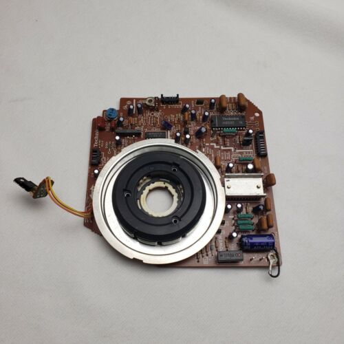 TECHNICS SL-1200 MK2 TURNTABLE MAIN BOARD PCB WITH MOTOR