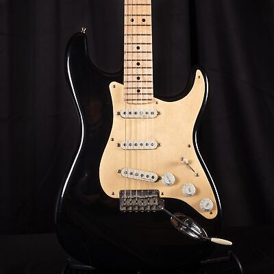 Pre Owned Fender Custom Shop '50's Stratocaster Black Electric Guitar With OHSC