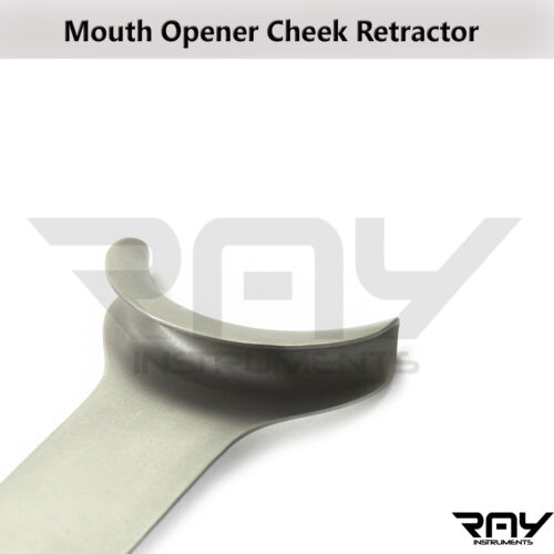 Cheek Retractor Lip Tongue Mouth Opener Orthodontic Instruments Stainless Steel