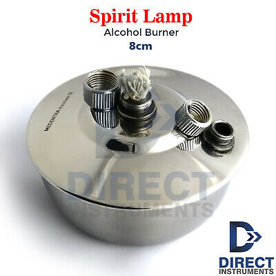 Dental Spirit Lamp Ethyl Alcohol Bunsen Burner Flame Heating Laboratory Jewelers