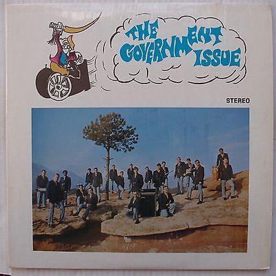Government Issue  Private Oddball Acapella Vinyl Lp Scarce Hear It  60S