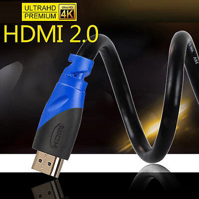 LOT 1.5FT-50FT 4K@60Hz HDMI 2.0 Cable HDR UHD 4:4:4 -HDCP 2.2 18Gbps 26AWG CL 3