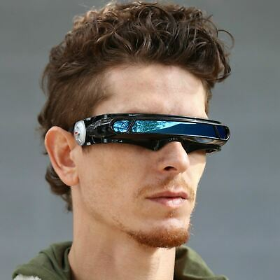 SPACE ROBOT ALIEN PARTY COSTUME CYCLOPS FUTURISTIC WRAP ROBOT SUNGLASSES (Cyclops Shades)