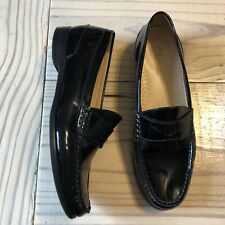 Cole Haan Black Patent Penny Loafers Womens Size 7 | eBay