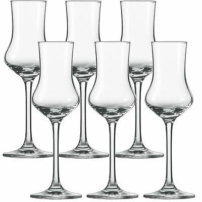 SCHOTT ZWIESEL Serie CLASSICO Grappaglas 6 Stück Inhalt 95 ml Obstbrandglas