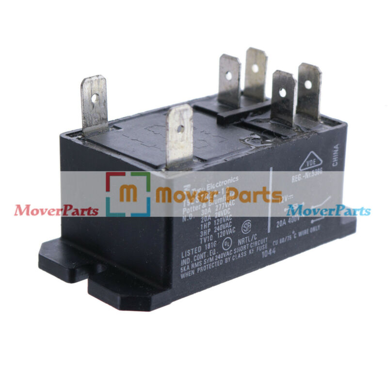 Power Relay T92S7D22-12 For TE Connectivity Realy Dpst-No 227VAC 12VDC 30A