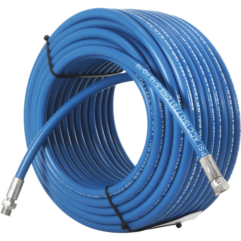 DTE Sewer Jetting Hose - 7000 PSI, 260ft. x 5/16in.