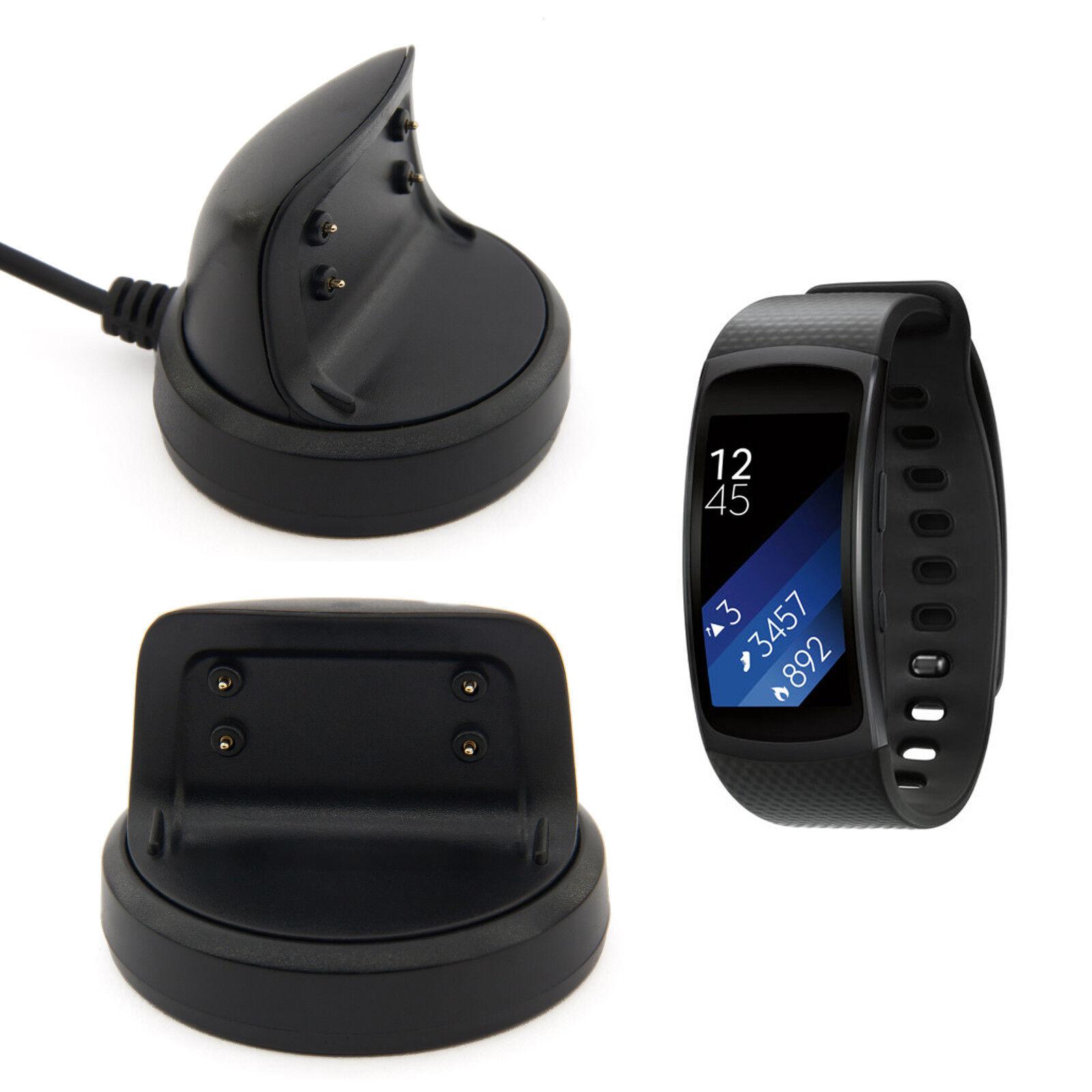 USB Dock Ladestation Ladegerät Samsung Gear Fit 2 & Pro SMR360 Charger Ladekabel