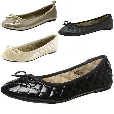 6d8e5834ef8 Alpine Swiss Aster Womens Comfort Ballet Flats Faux Leather Slip On Shoes