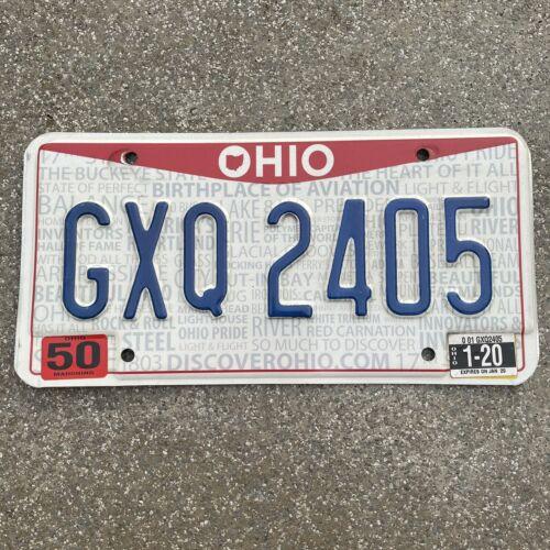 Original US Auto Kennzeichen Nummernschild USA 🇺🇸 Ohio