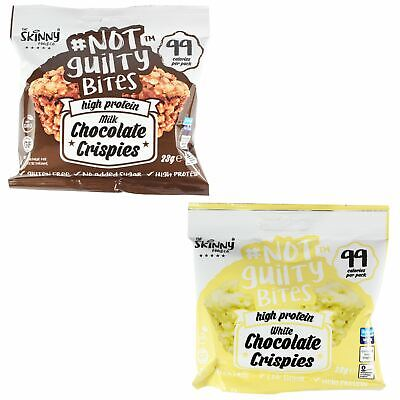 Skinny Foods Not Guilty High Protein Snack Chocolate Crispies 99 Calories