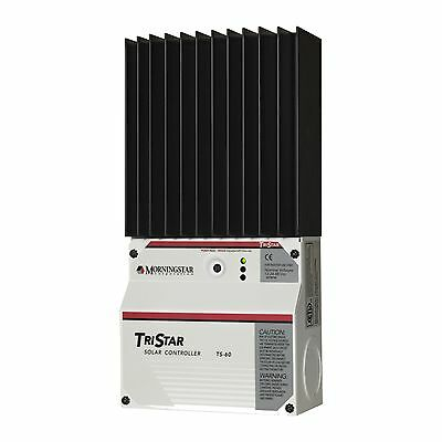 Morningstar TriStar 60A PWM solar/wind controller for caravans, boats, off-grid Morning Star Solar Controller