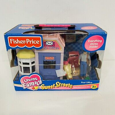 New 2003 Fisher Price Loving Family Sweet Streets Post Office 74142 Sealed NIB