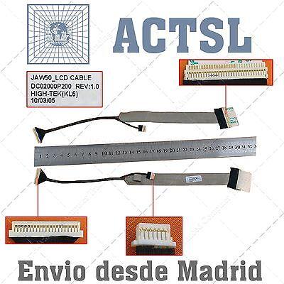 Cable de Video LCD Flex Acer Aspire 4330 4730 4730z (Sin conector...