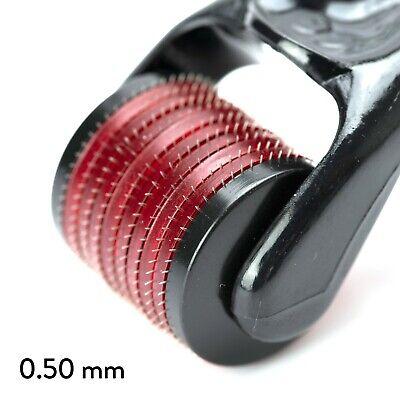 New 540 Micro Titanium 0.50 Size Needle Derma Skin Roller Home Anti Ageing Acne