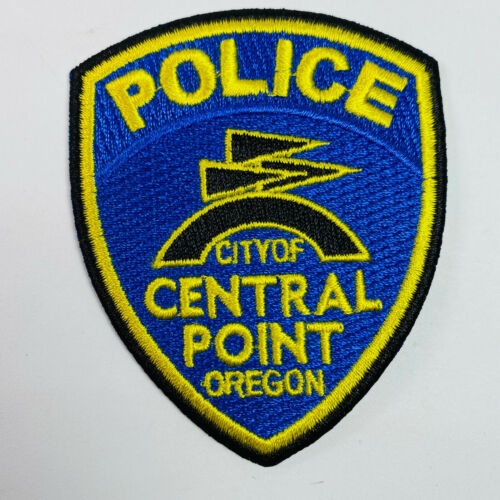 Central Point Police Oregon Hat Size Patch