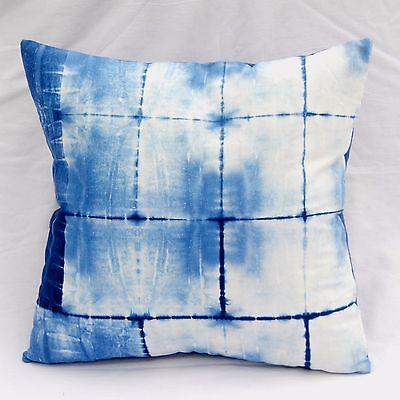 Подушка Indigo Blue Cushion Cover Indian