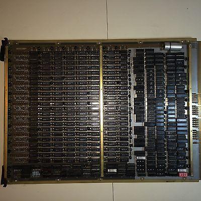 NASA Space Station Vintage Computer MODCOMP Huge Circuit Board 200 Chips NOS
