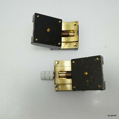 Used 60x60x20 R95 60mm tilting goniometer stage positioner STA-I-392=5F22