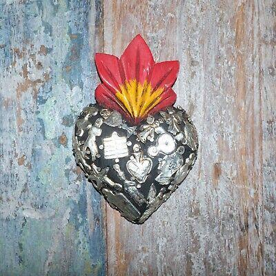 Mexican Milagro Heart Decoration Mini G