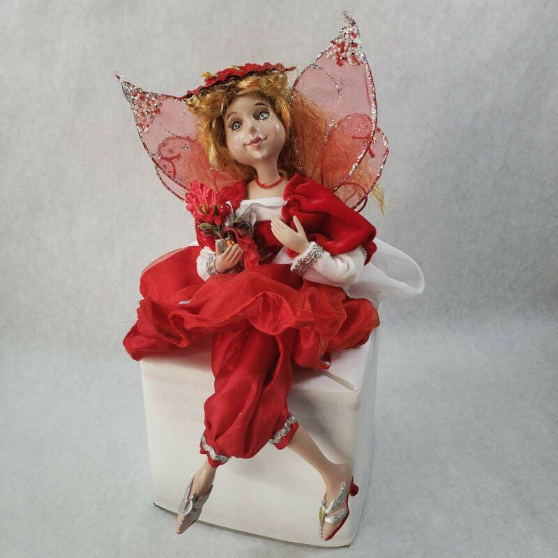 2009 Christmas Fairy Elf Large Doll Ornament Collectible