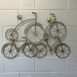 NEW METAL WALL ART - BICYCLES !!!