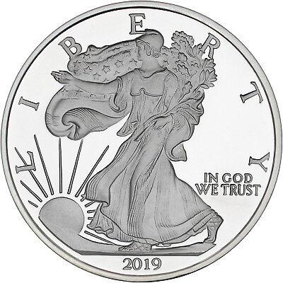 Silvertowne 2019 Silver American Eagle 5oz .999 Silver Medallion