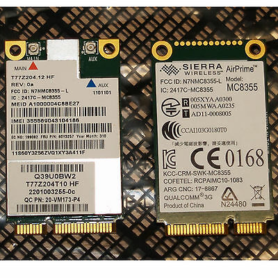 UMTS Lenovo ThinkPad FRU 60Y3257 Sierra 2417C MC8355 T430 T530 X220 X230
