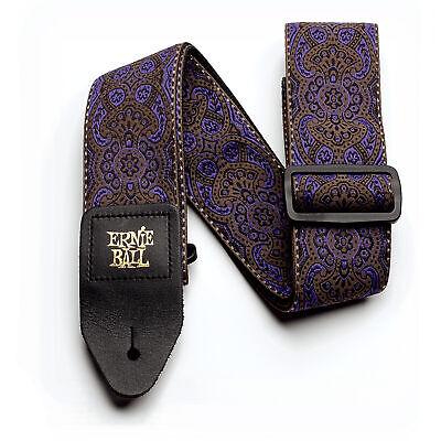 Ernie Ball Purple Paisley Jacquard Guitar Strap