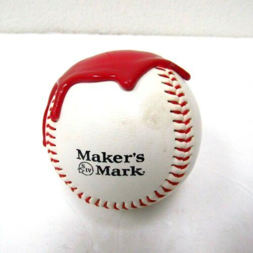 Rare 2006 Makers Mark Red Wax Dipped Baseball