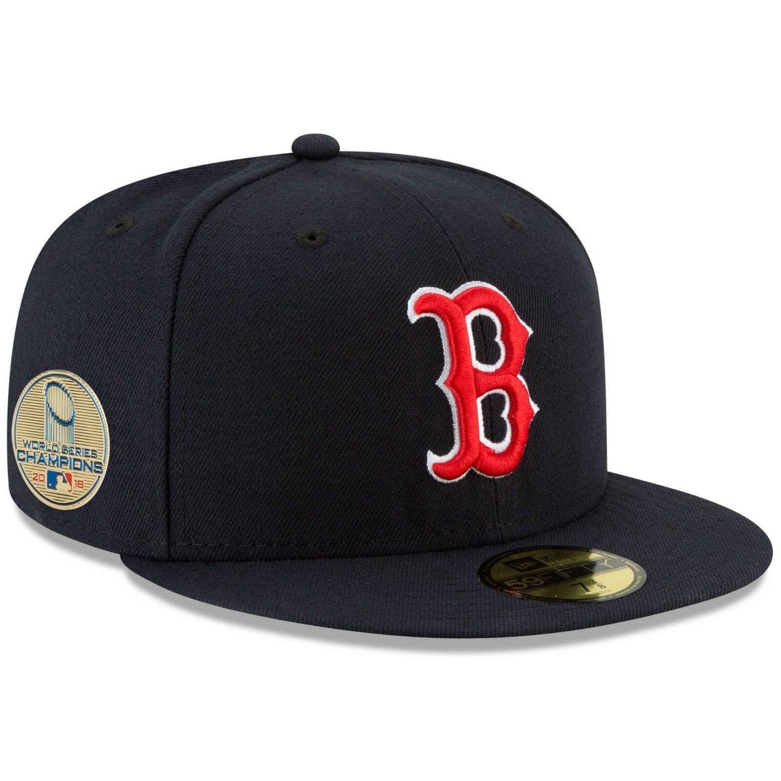 Details about Boston Red Sox New Era 2018 World Series Champions Side Patch  59FIFTY Fitted Hat 76f3f6525a5
