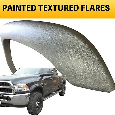 2014 2015 Dodge Ram 2500 3500 Painted TEXTURED Fender Flares to Match - POP OUT