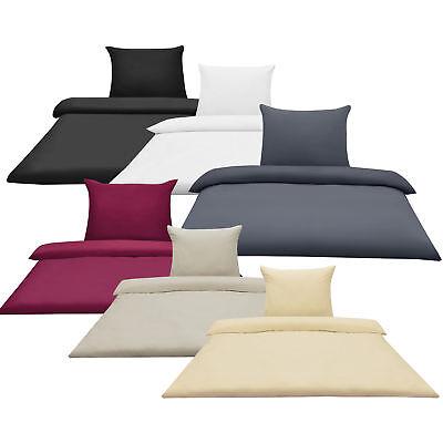 [neu.haus]® Bettwäsche Kissenbezug Kopfkissen Bettbezug Microfaser Öko-Tex - Weiße Bettwäsche