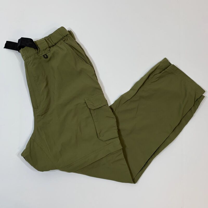 Womens Official Boy Scouts of America Switchback Zip Off Pants Ladies XL Green