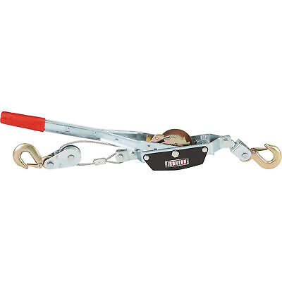 Ironton Come-along Single-gear Hand Cable Puller - 2-ton Capacity