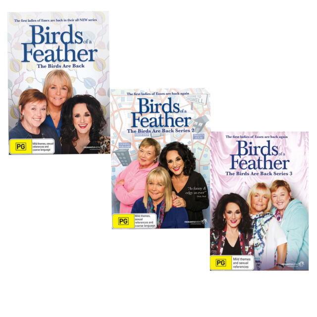 Birds of a Feather The Birds are Back 1 + 2 + 3 DVD R4 New Sealed